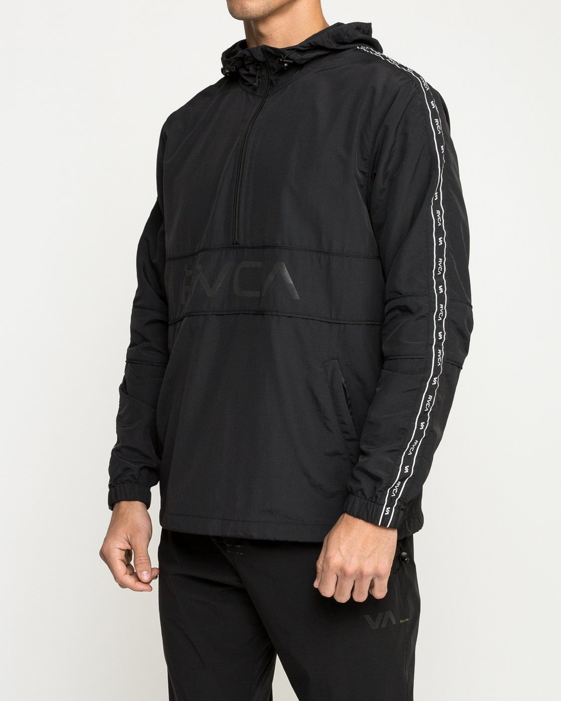 3 Adapter Anorak Jacket Black V704TRAA RVCA