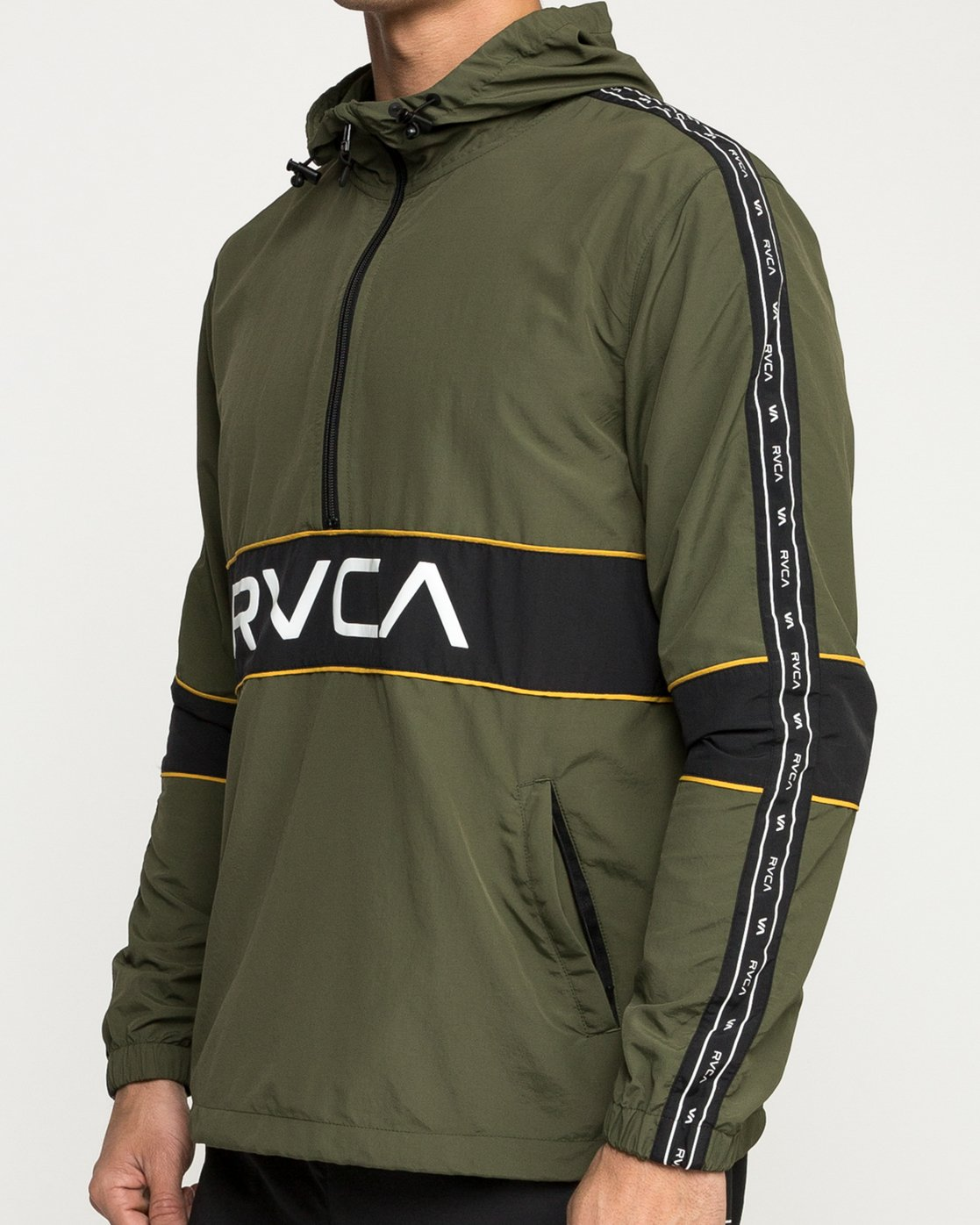5 Adapter Anarok Jacket Green V704TRAA RVCA