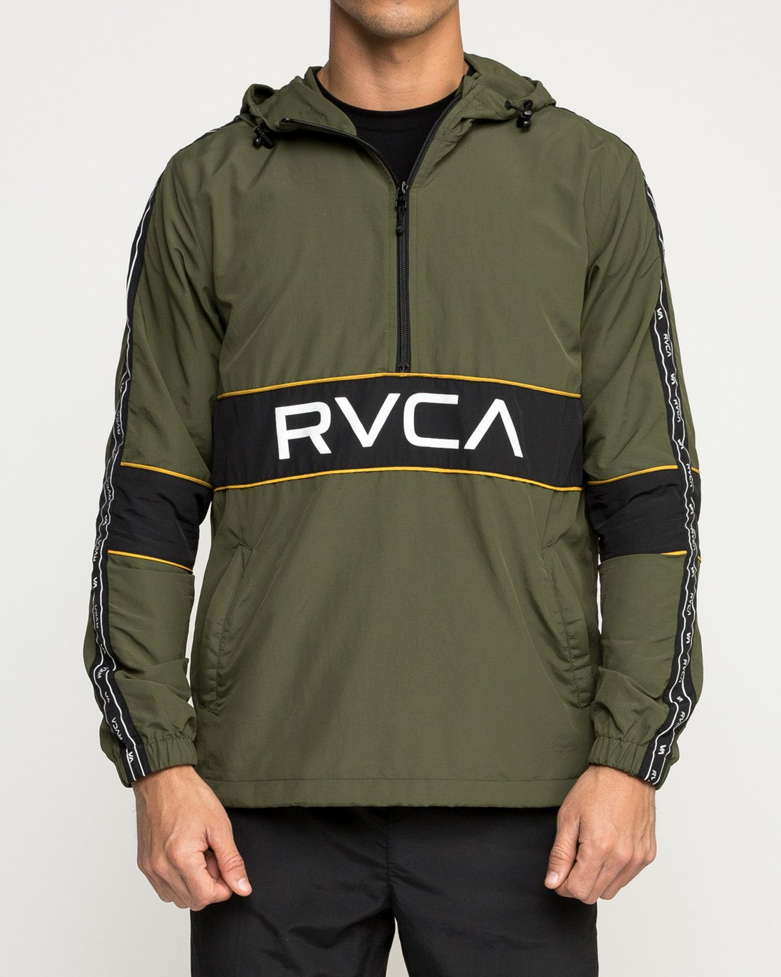 2 Adapter Anarok Jacket Green V704TRAA RVCA