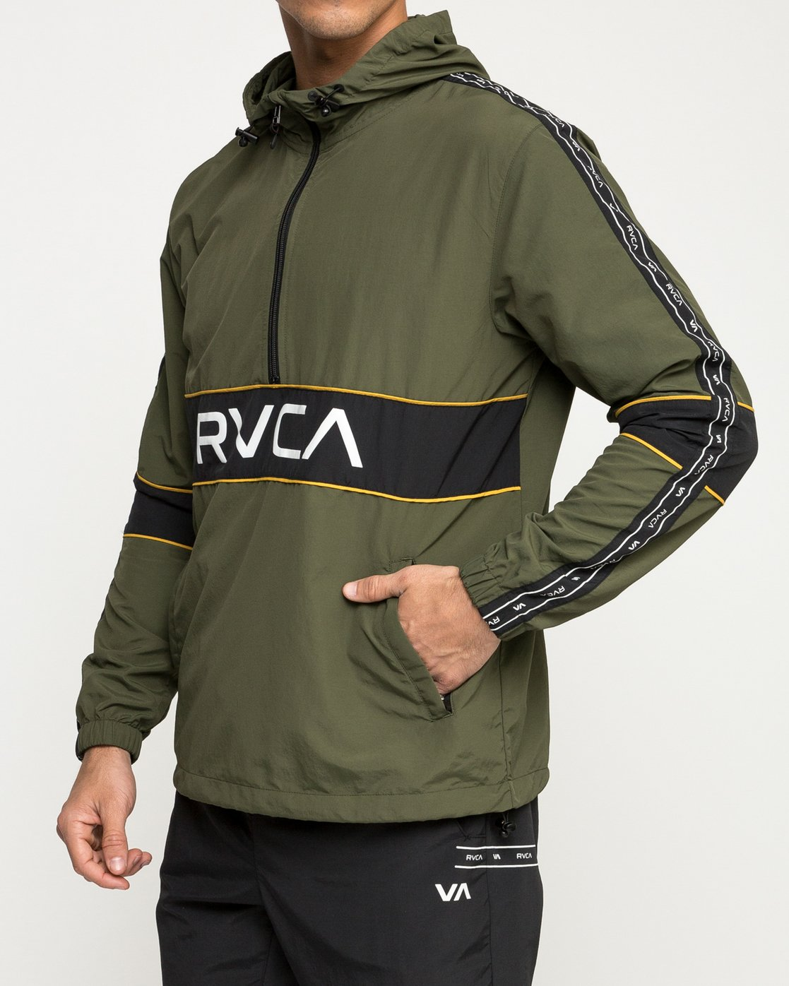 3 Adapter Anarok Jacket Green V704TRAA RVCA