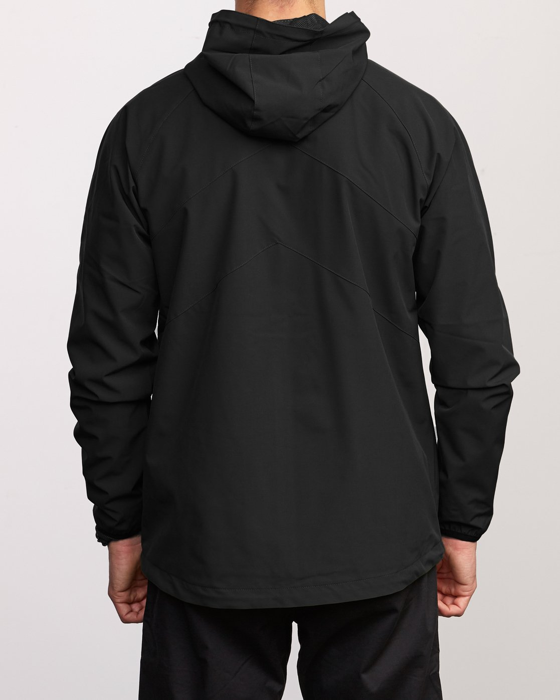 6 VA Windbreaker Jacket Black V705TRWI RVCA