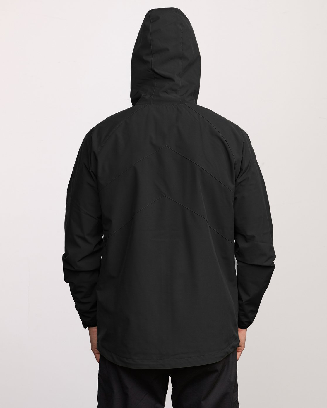 7 VA Windbreaker Jacket Black V705TRWI RVCA