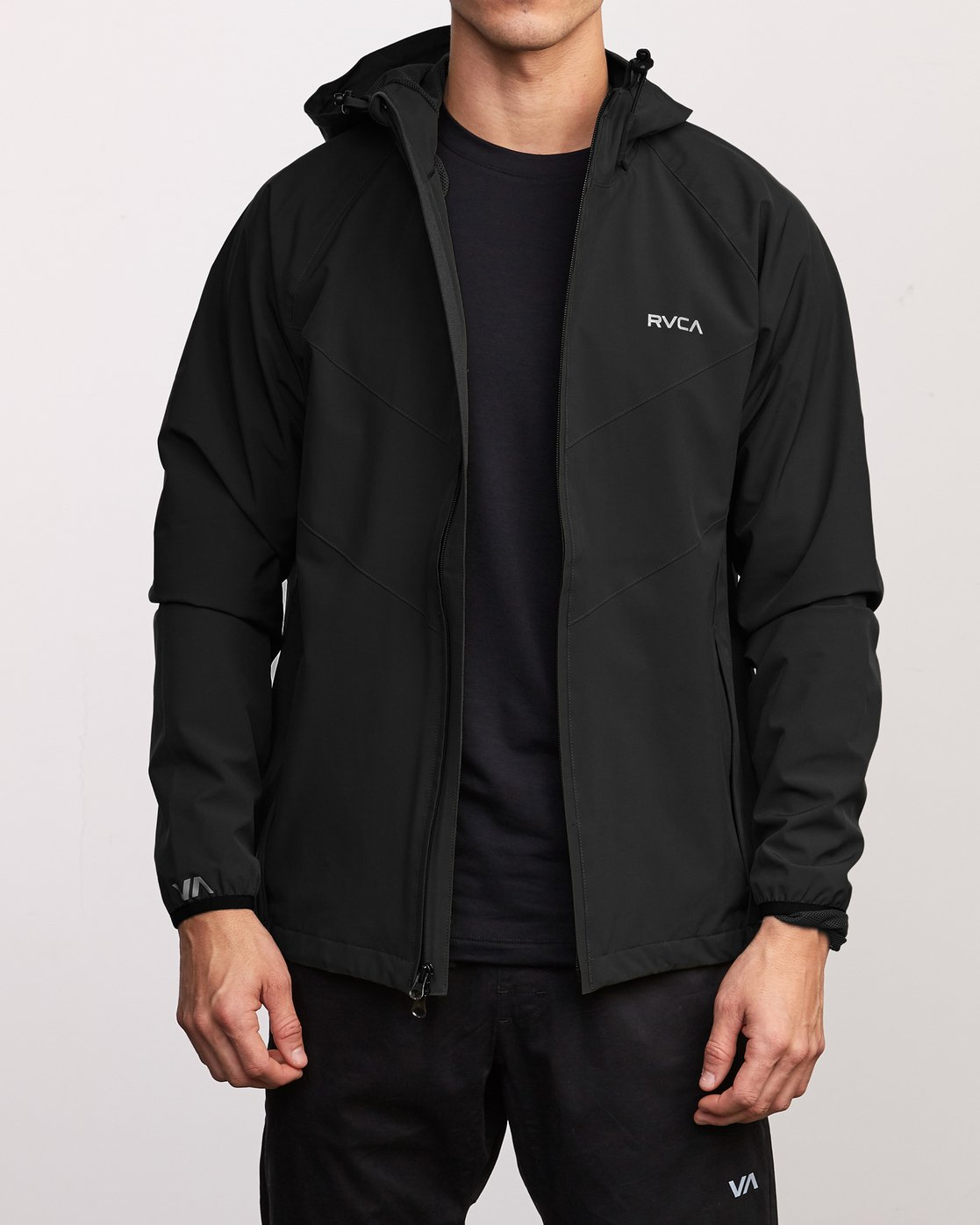 2 VA Windbreaker Jacket Black V705TRWI RVCA