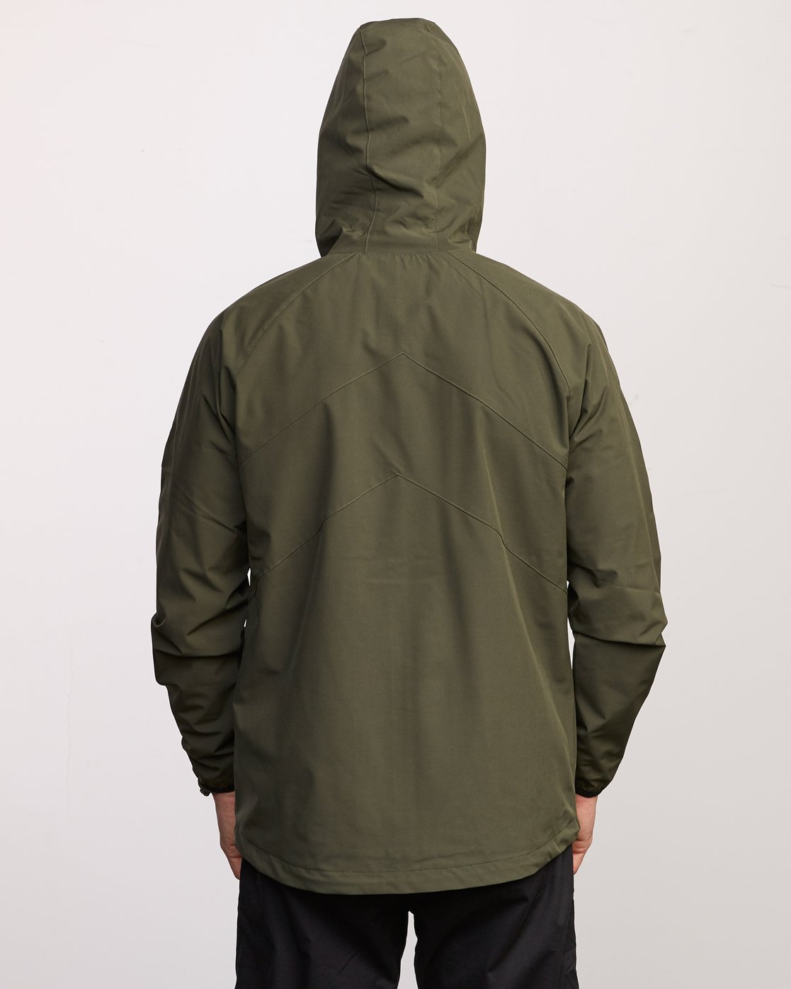 7 VA Windbreaker Jacket Green V705TRWI RVCA