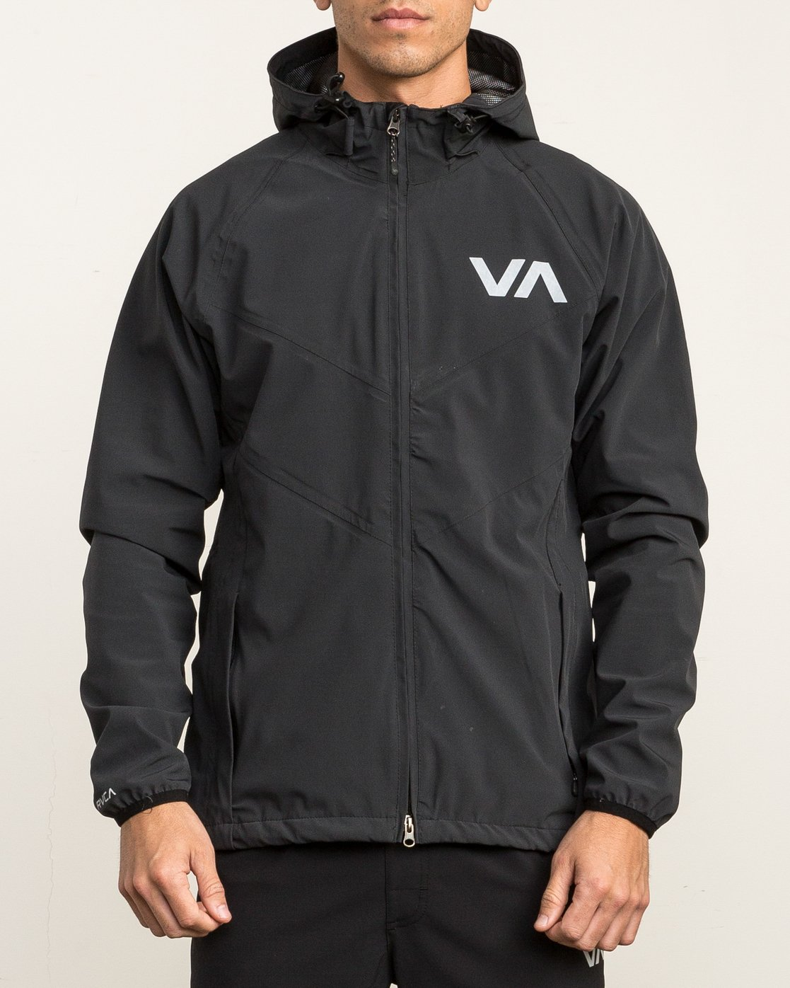 1 VA Windbreaker Jacket Black V7701VAW RVCA