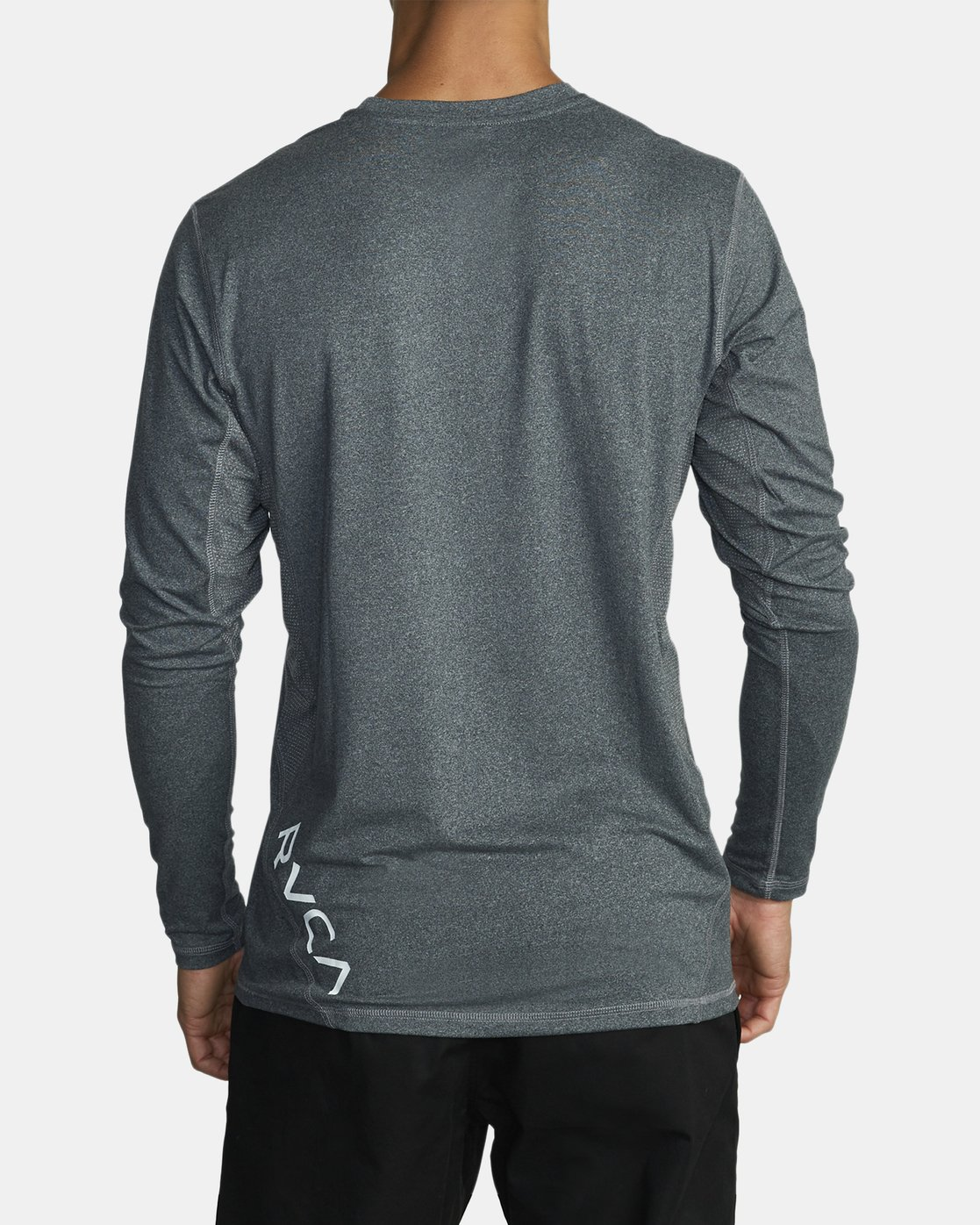 3 SPORT VENT LONG SLEEVE TEE Brown V9011RSV RVCA