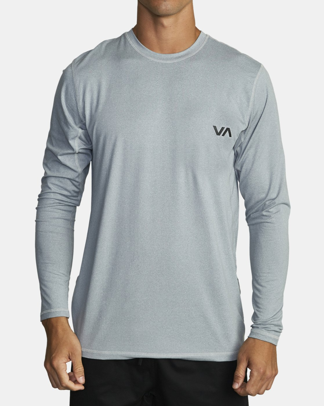 0 SPORT VENT LONG SLEEVE TEE Grey V9011RSV RVCA
