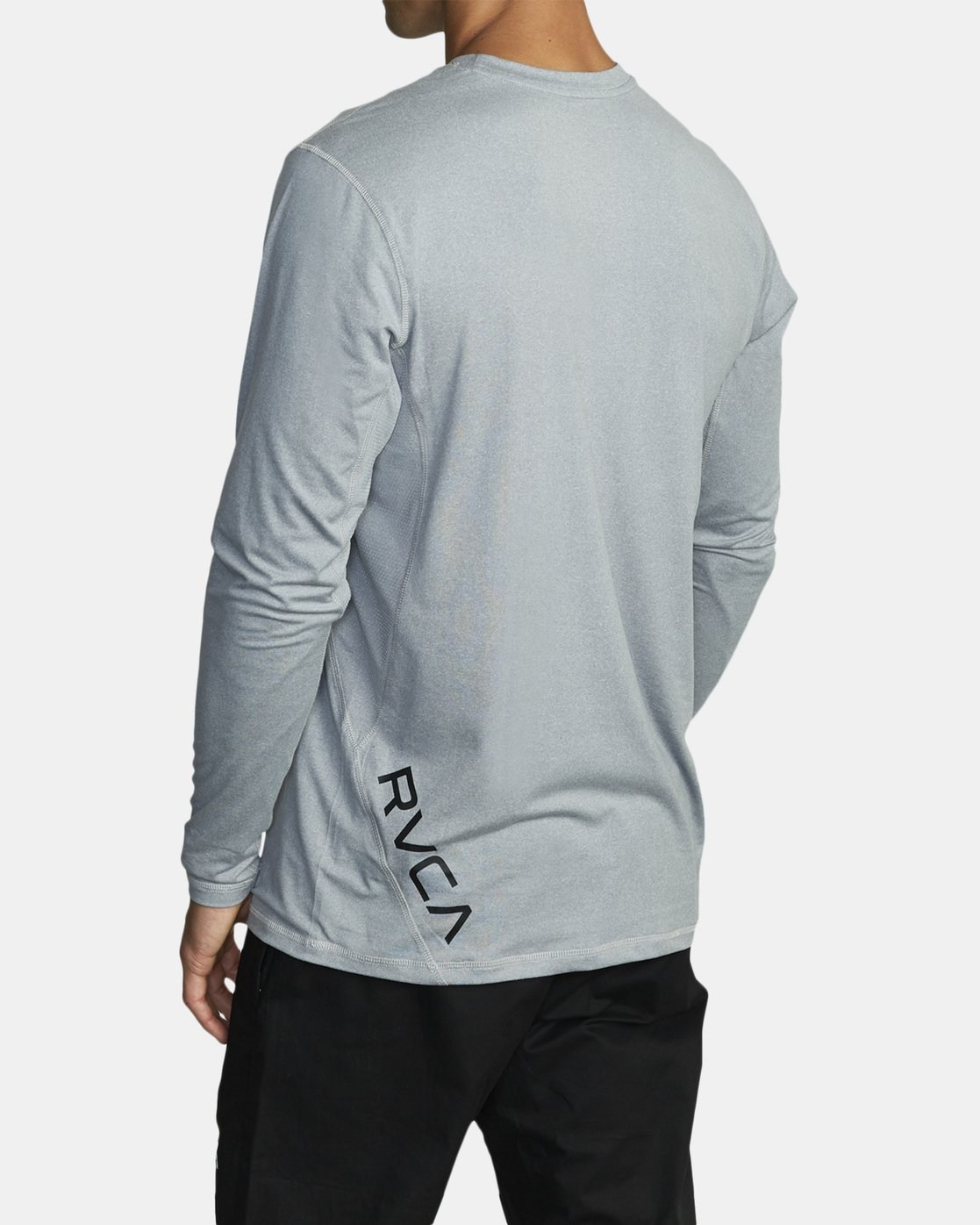 4 SPORT VENT LONG SLEEVE TEE Grey V9011RSV RVCA
