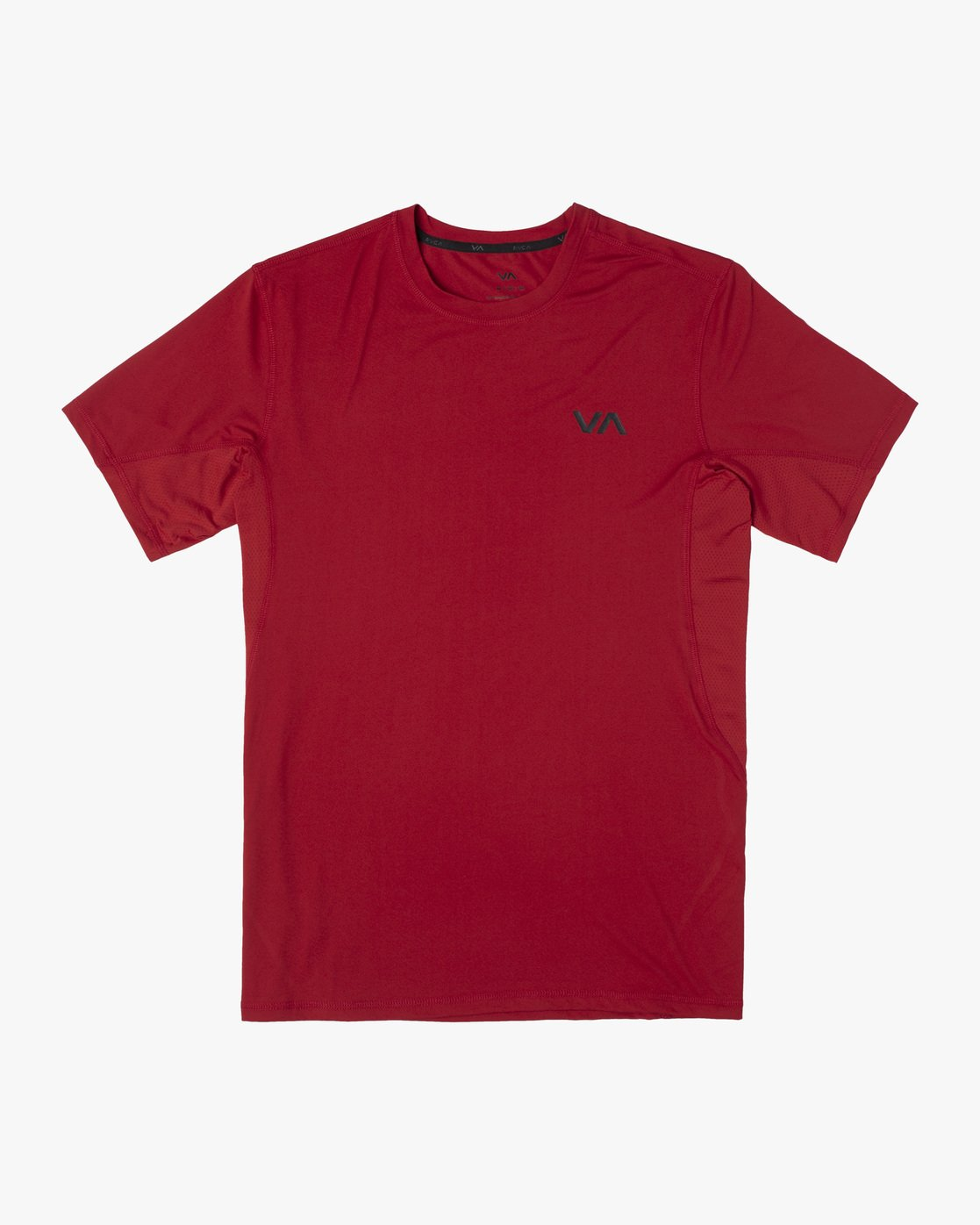 0 SPORT VENT SHORT SLEEVE TEE Red V9021RSV RVCA