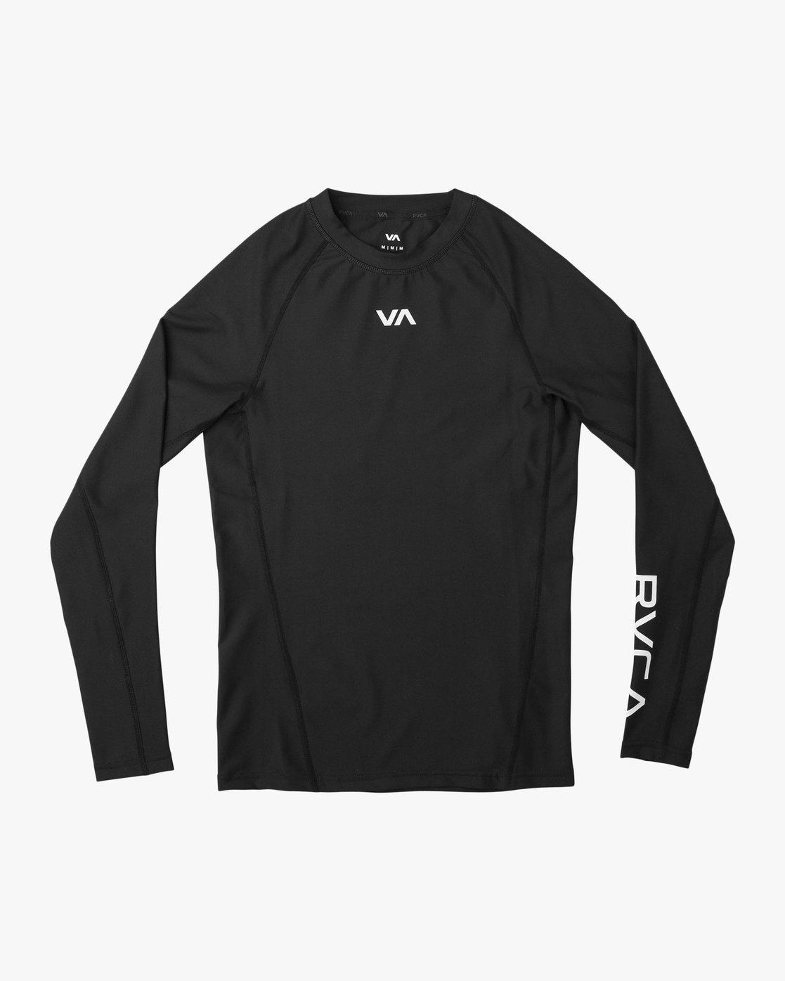 adb399ac 0 VA Performance Long Sleeve Shirt Black V902QRCL RVCA