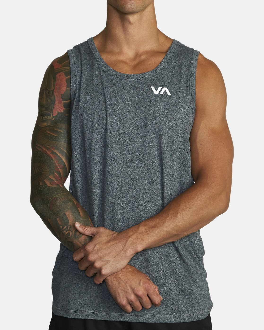 2 SPORT VENT TANK TOP Brown V9031RST RVCA