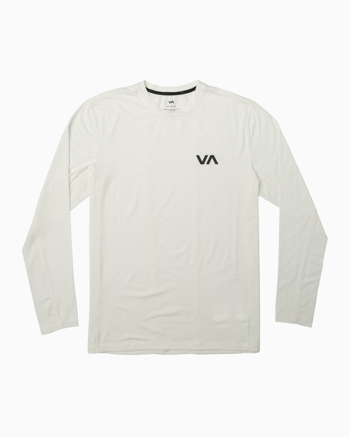 0 VA Vent Long Sleeve Top White V903QRVL RVCA