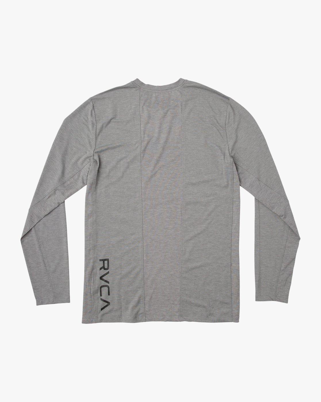 1 VA Vent Long Sleeve Top Grey V903QRVL RVCA