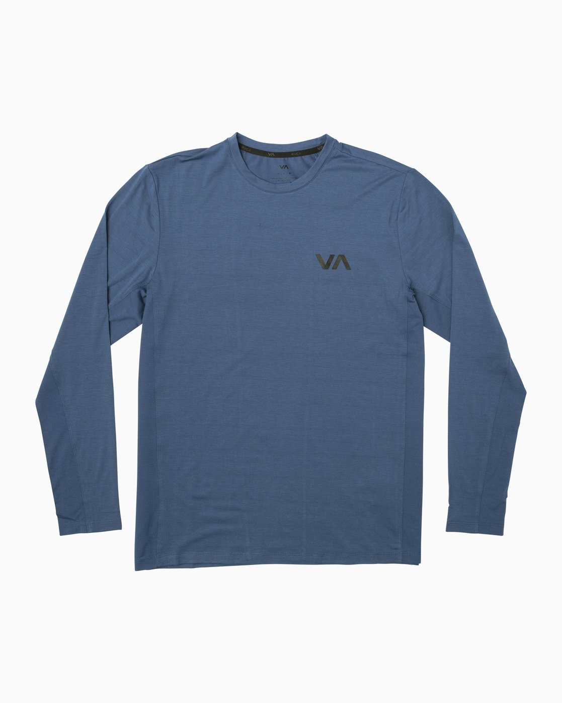 0 VA Vent Long Sleeve Top Blue V903QRVL RVCA
