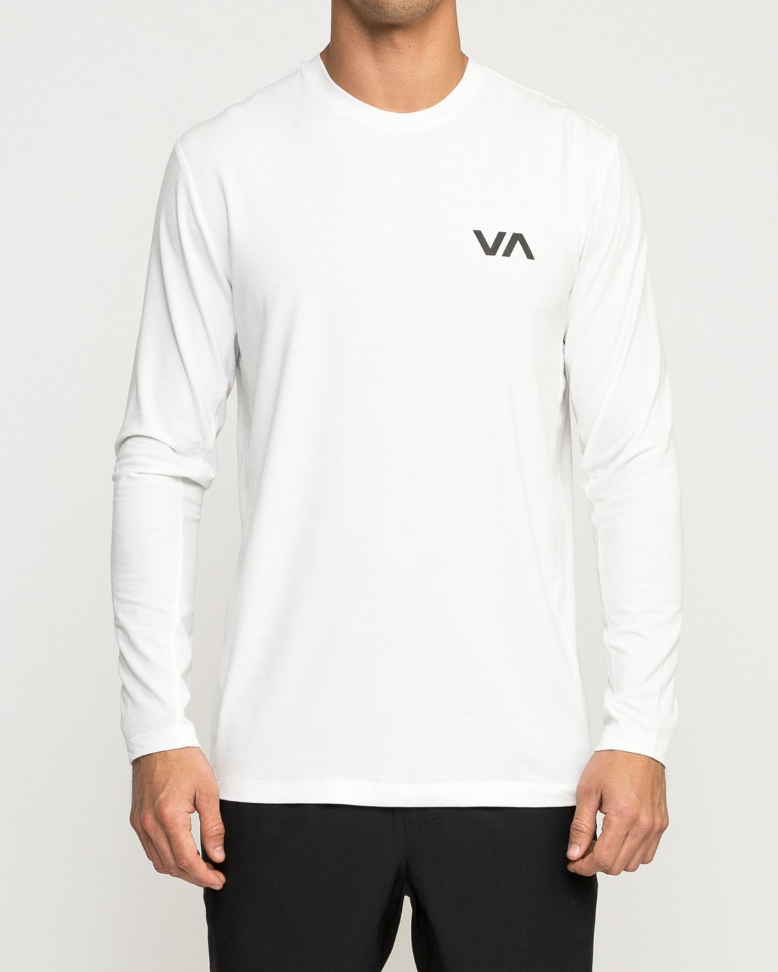 2 VA Vent Long Sleeve Top White V903QRVL RVCA