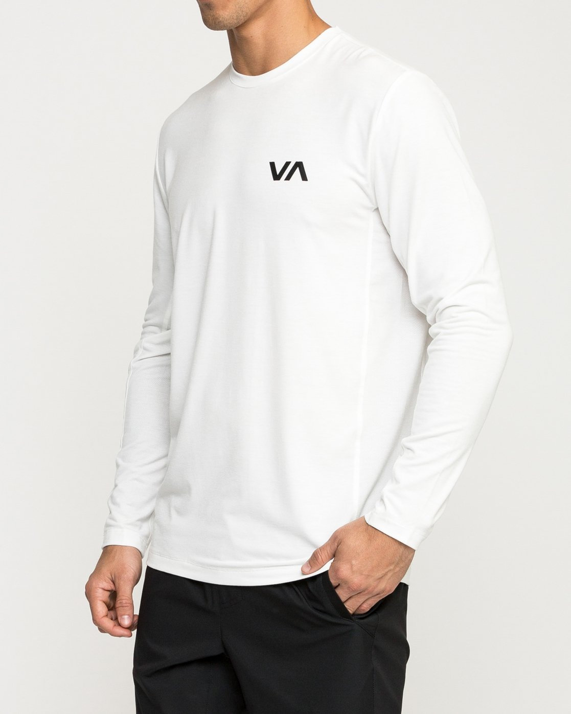 3 VA Vent Long Sleeve Top  V903QRVL RVCA