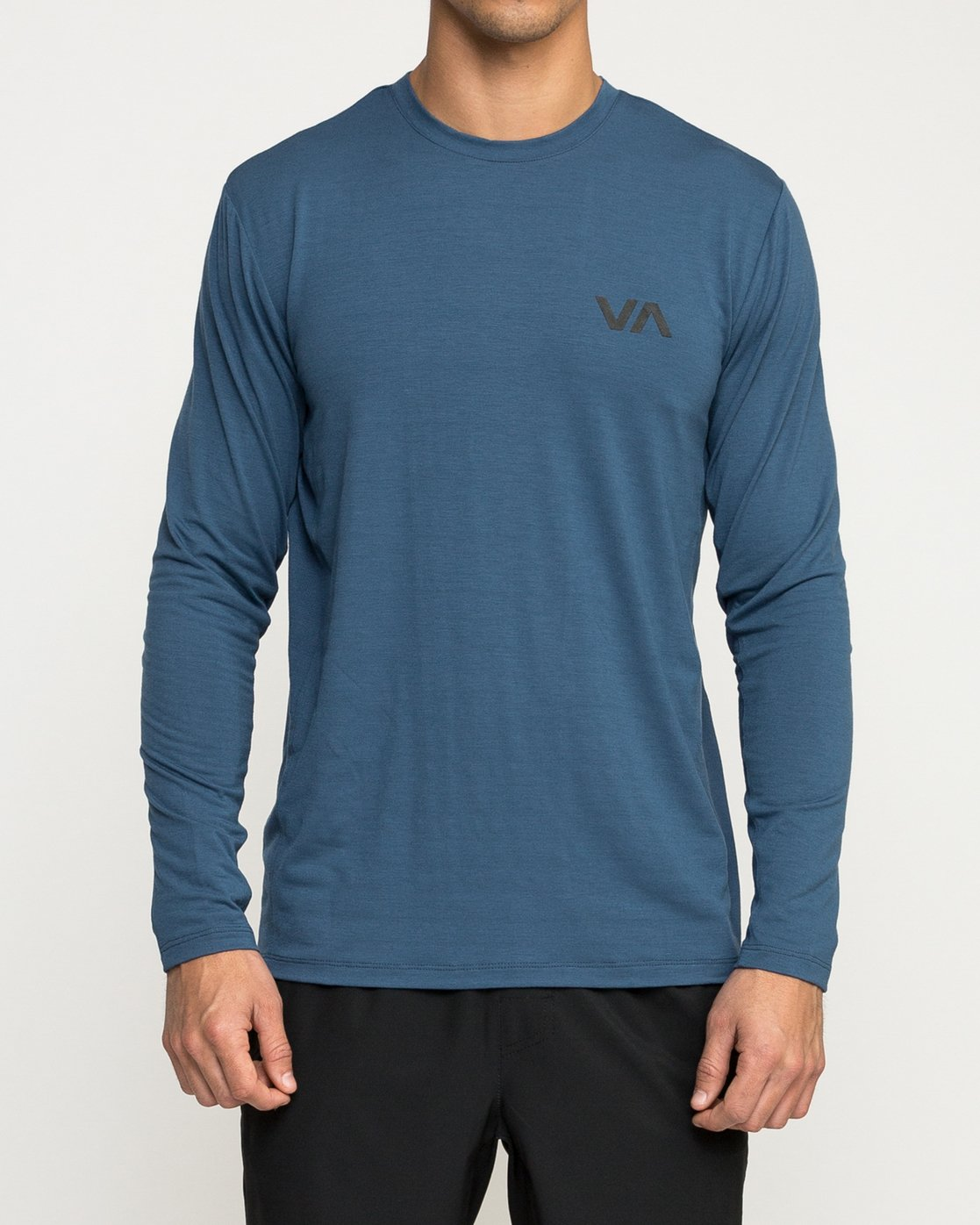 2 VA Vent Long Sleeve Top Blue V903QRVL RVCA