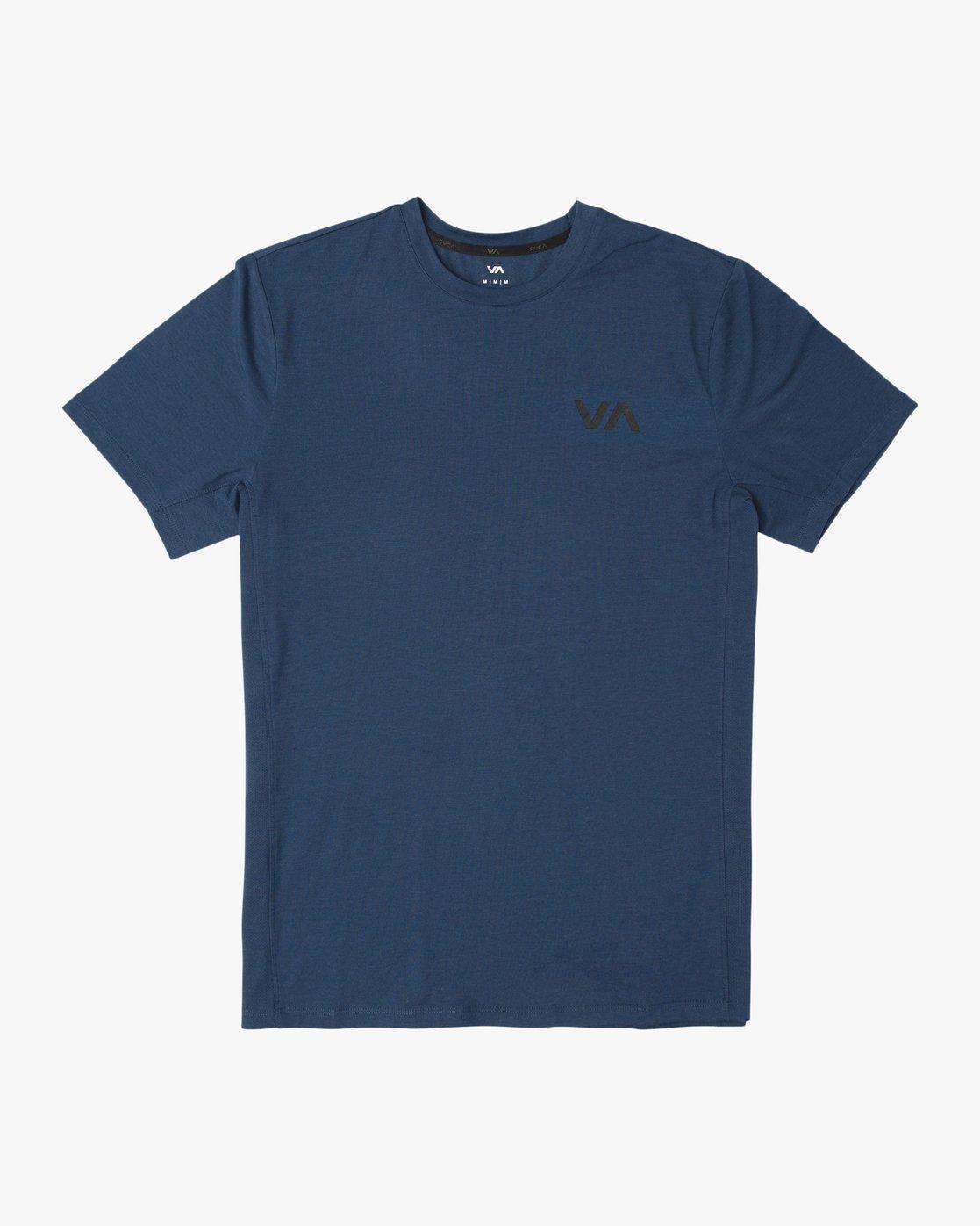 0 VA Vent Short Sleeve Top Blue V904QRVS RVCA