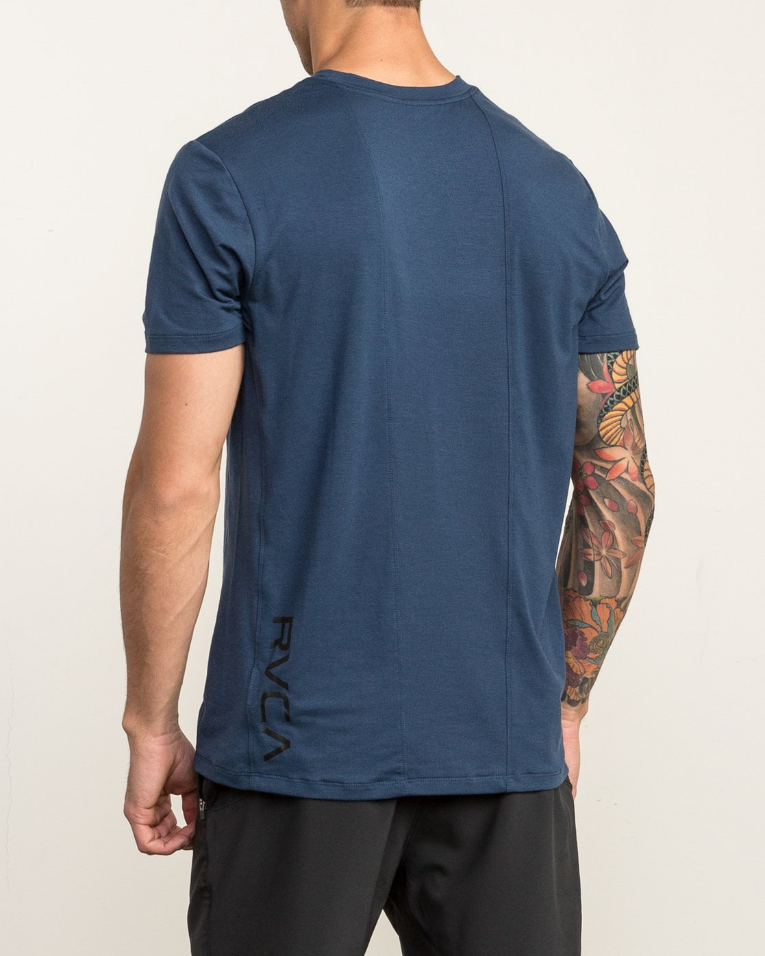 4 VA Vent Short Sleeve Top Blue V904QRVS RVCA