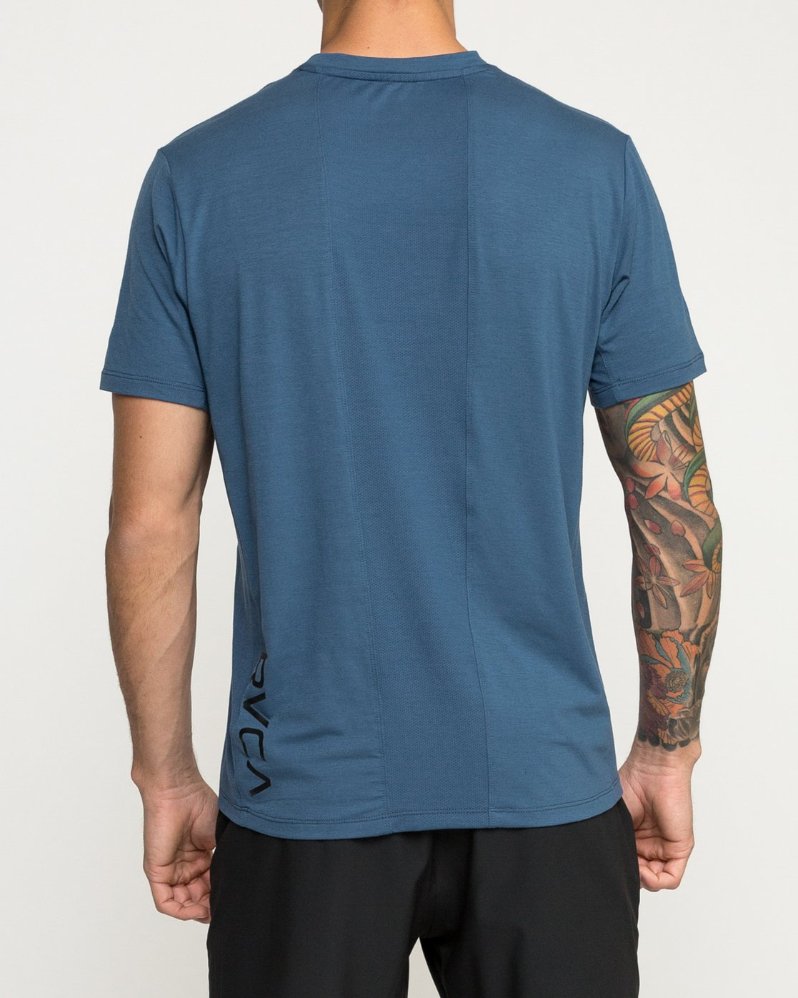 5 VA Vent Short Sleeve Top Blue V904QRVS RVCA