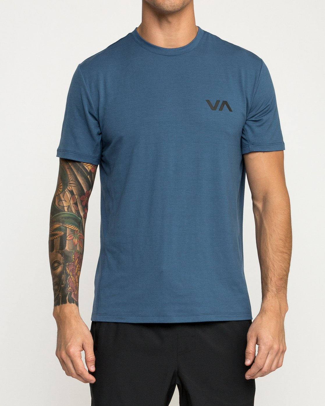 2 VA Vent Short Sleeve Top Blue V904QRVS RVCA