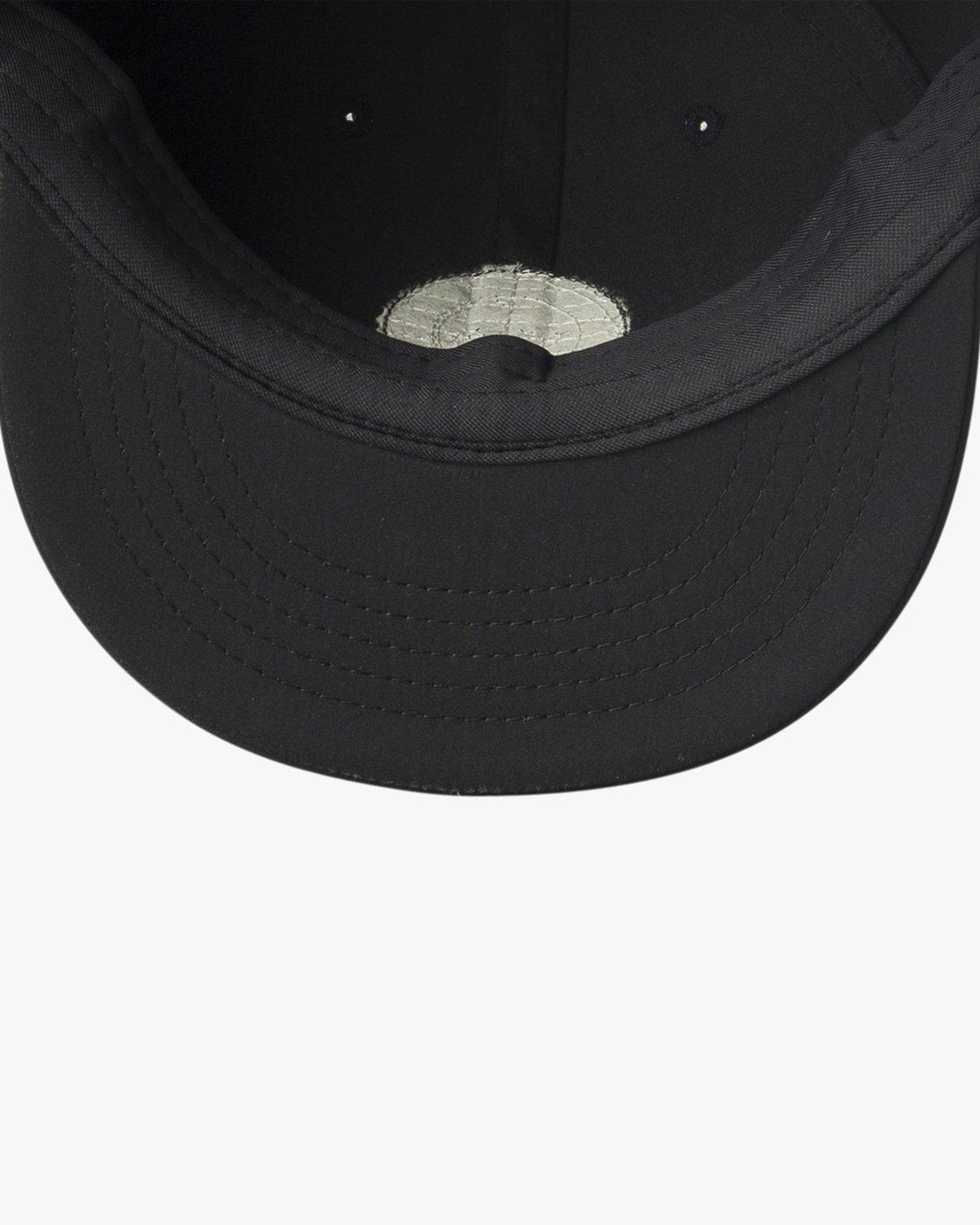 2 VA Balance Hat Black VAHWVRBA RVCA