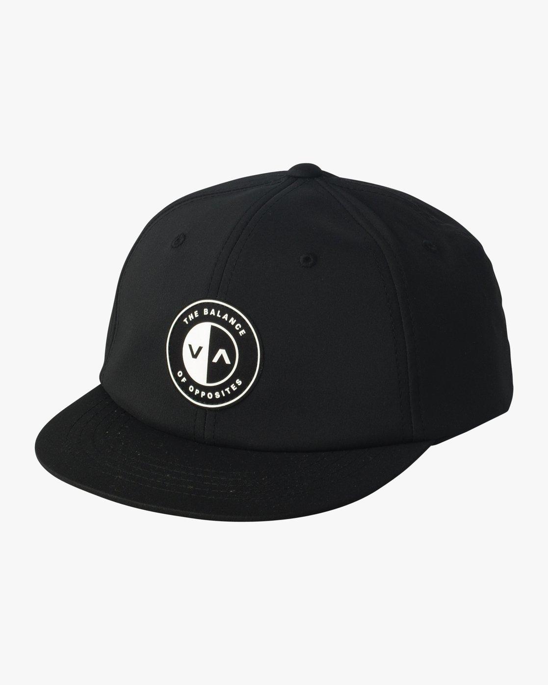 0 VA Balance Hat Black VAHWVRBA RVCA