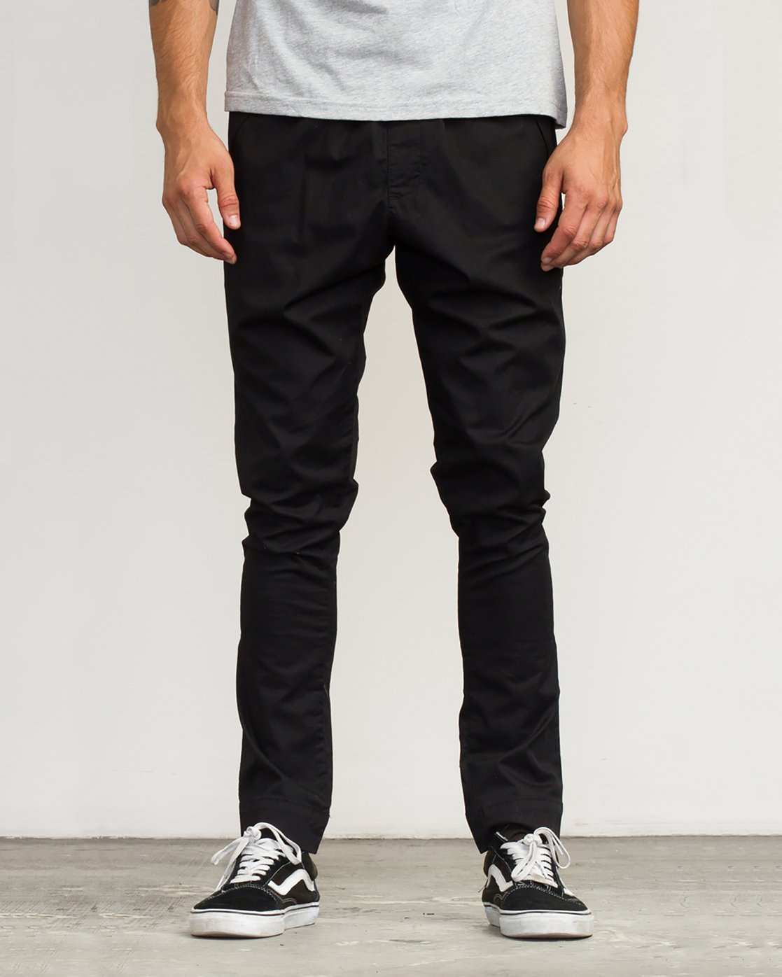 0 Vamok Woven Pant Black VE301VAM RVCA