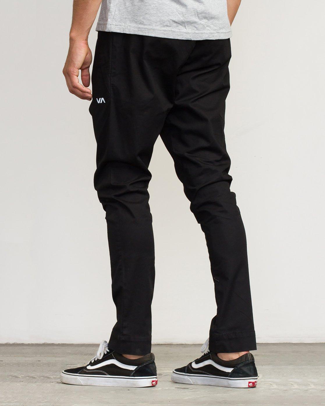 3 Vamok Woven Pant Black VE301VAM RVCA