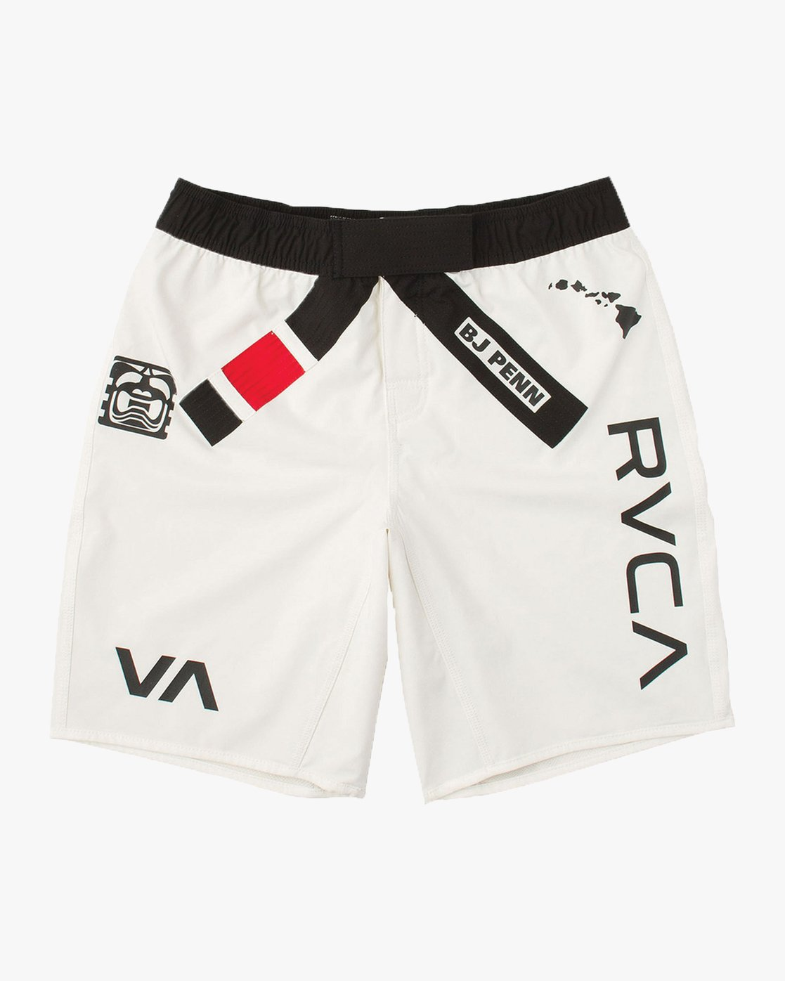 7 Limited Edition BJ Penn Legend Short White VG127BLS RVCA