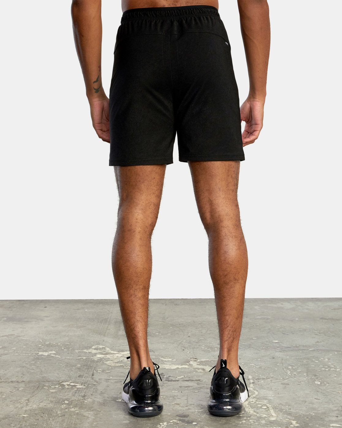 8 VA Sport Grappler Short Black VG208GRP RVCA
