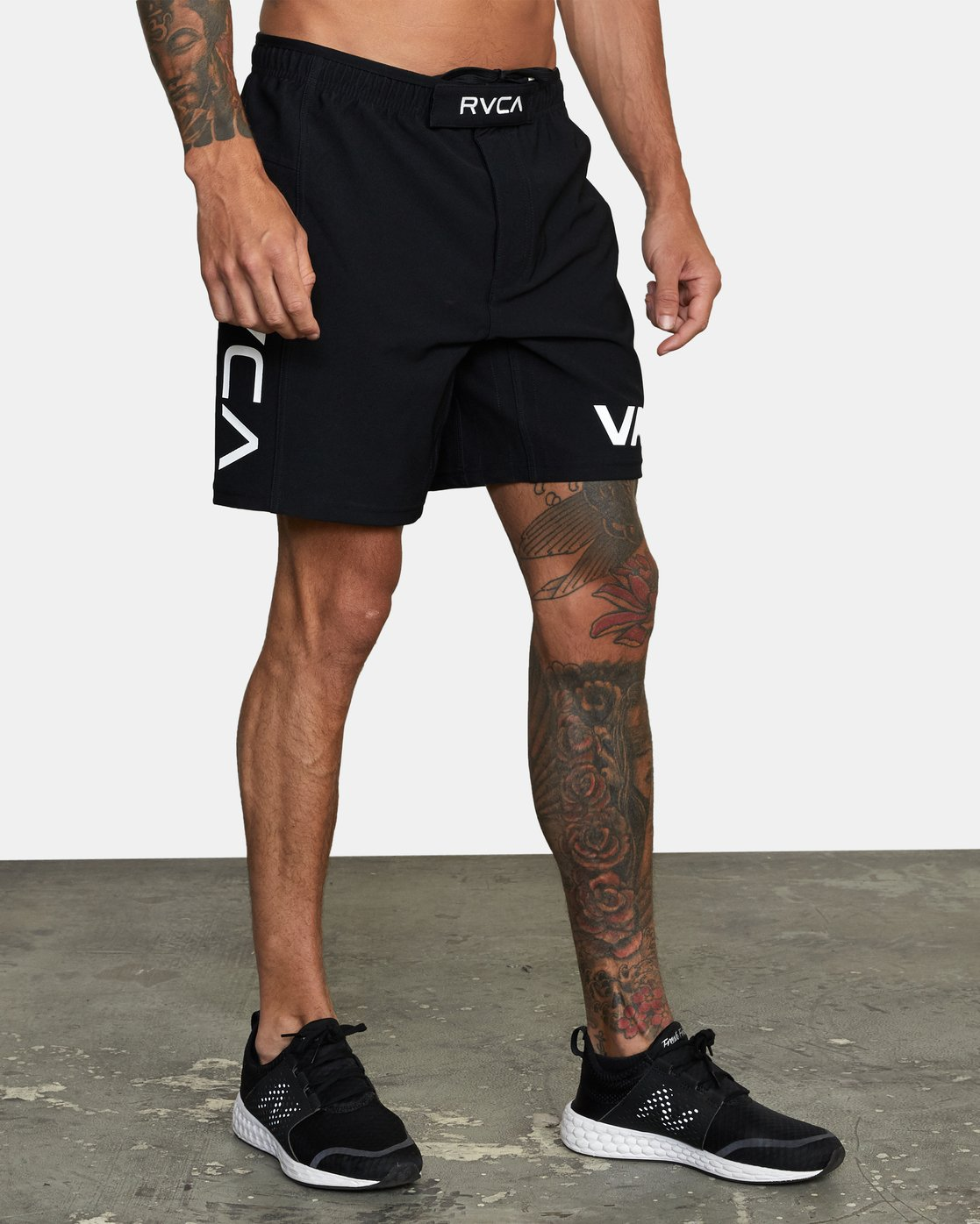 12 VA Sport Grappler Short Black VG208GRP RVCA