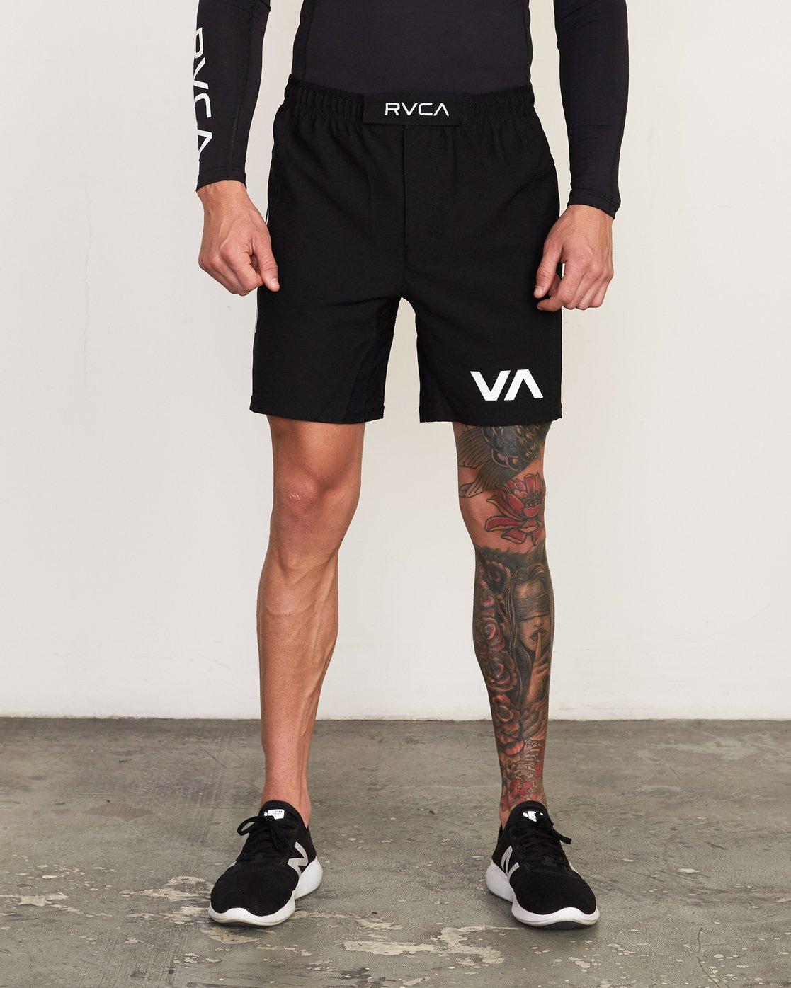 1 VA Sport Grappler Short  VG208GRP RVCA