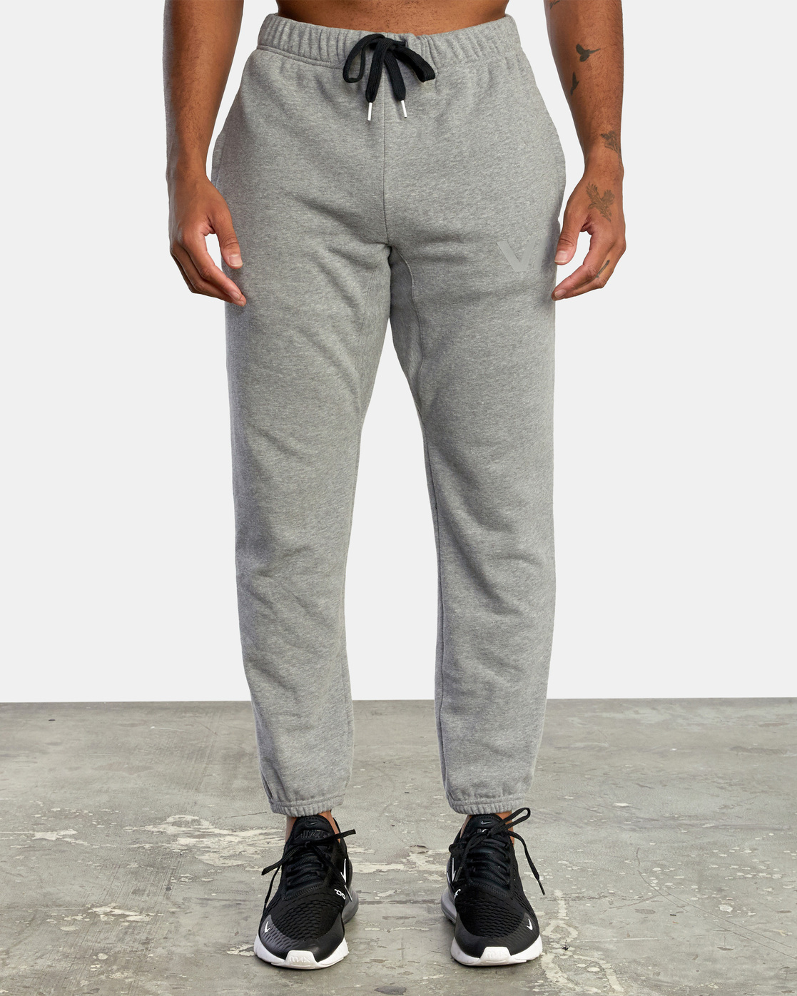 7 SWIFT SWEATPANT Grey VJ301SWT RVCA