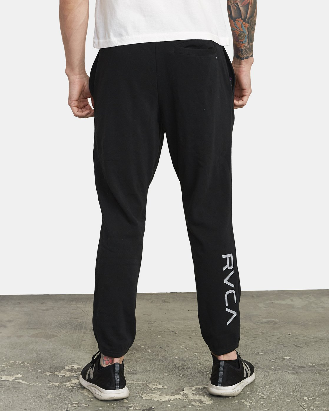 2 SWIFT SWEATPANT Black VJ301SWT RVCA
