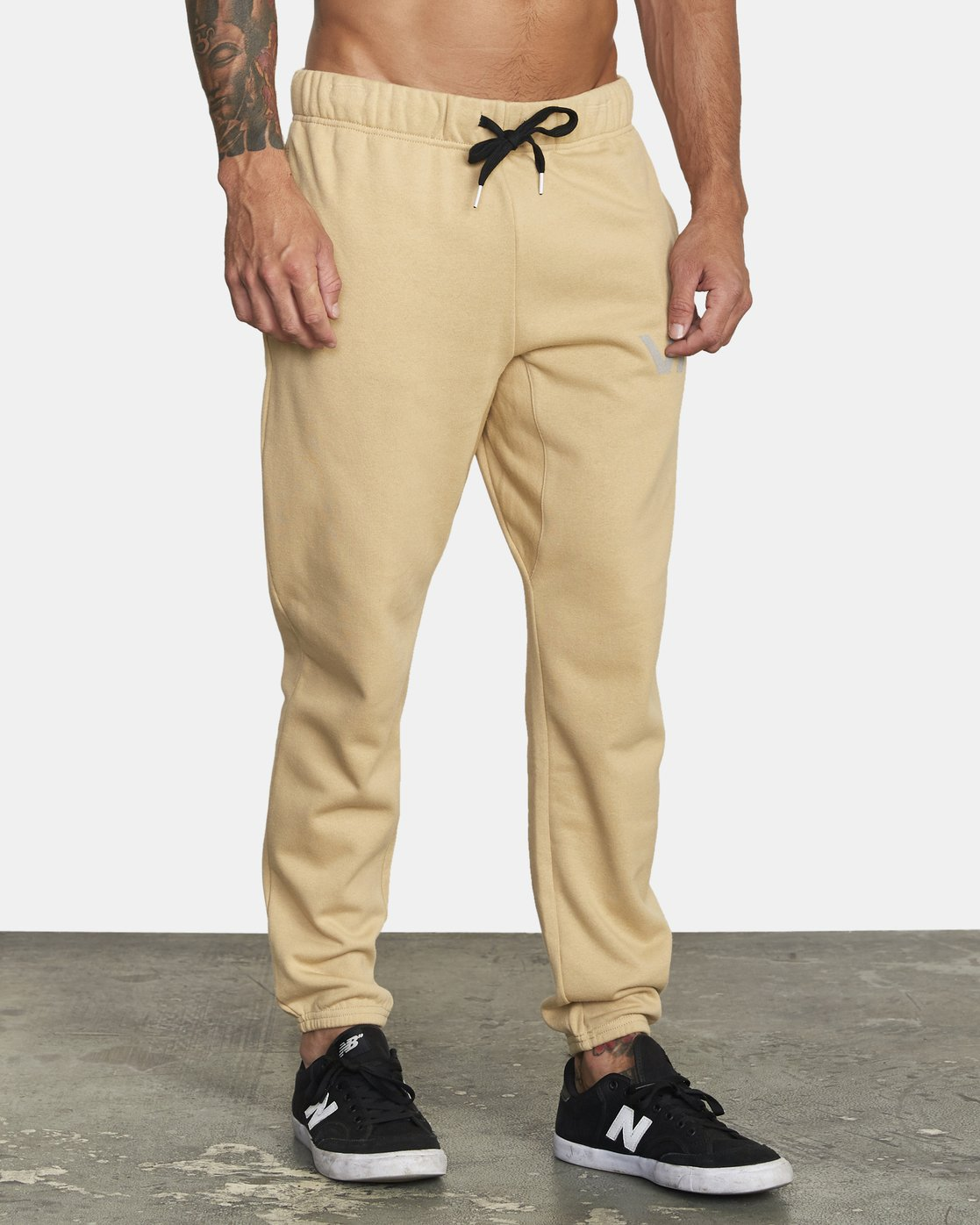 5 SWIFT SWEATPANT Brown VJ301SWT RVCA