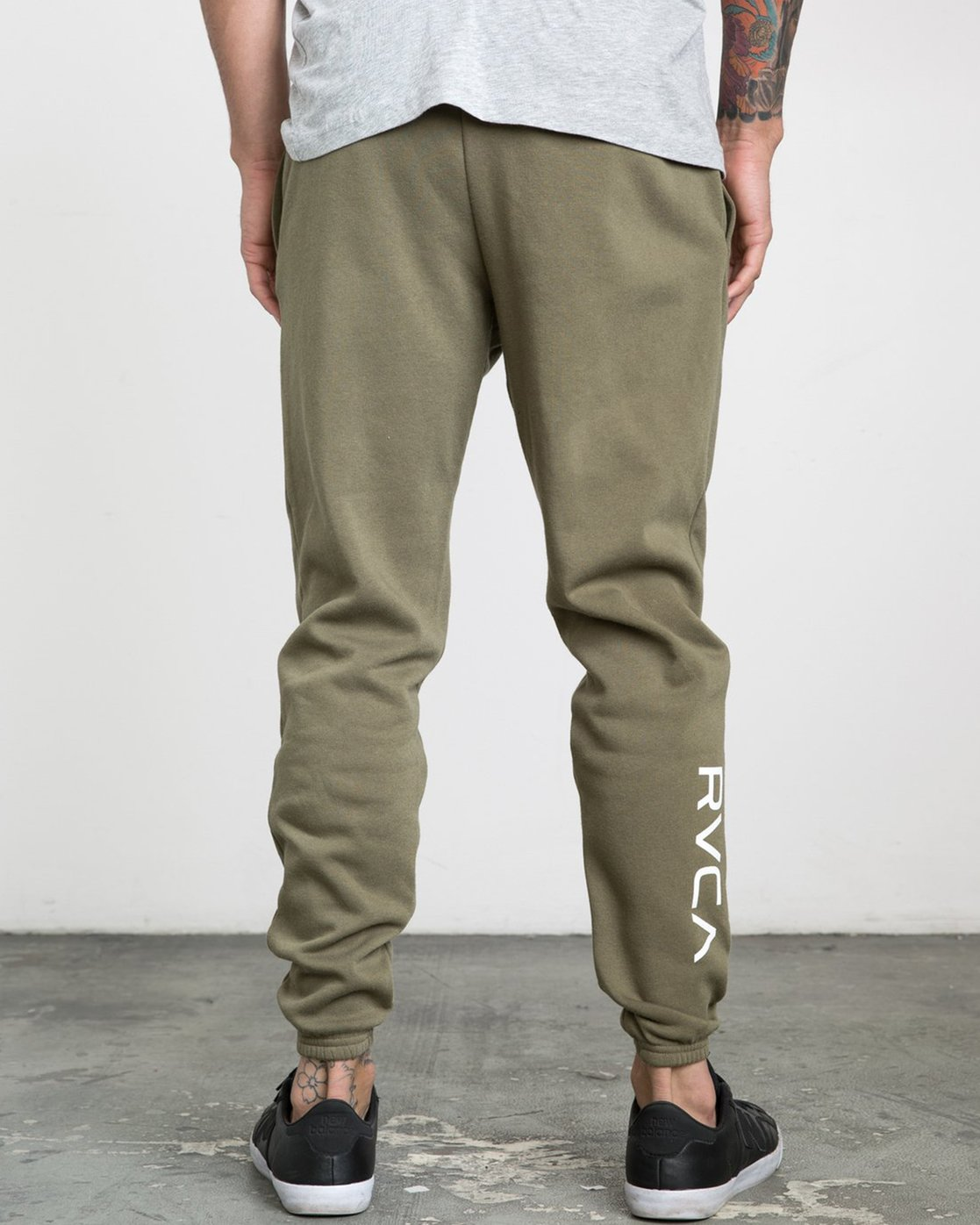 1 SWIFT SWEATPANT Green VJ301SWT RVCA
