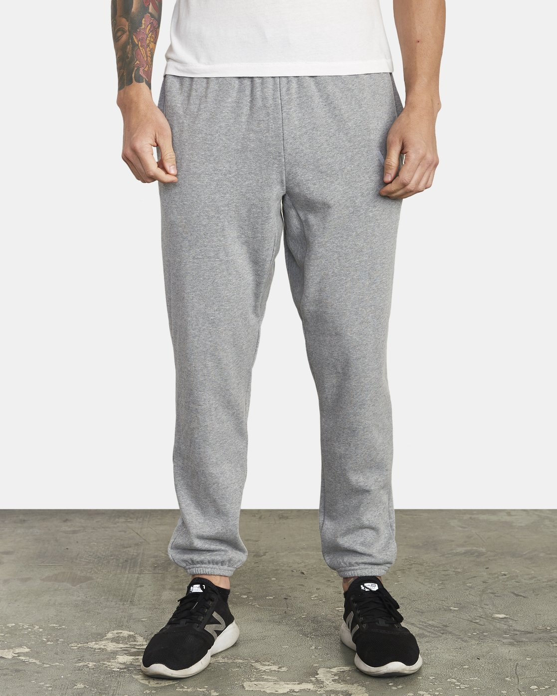1 SWIFT SWEATPANT Grey VJ301SWT RVCA
