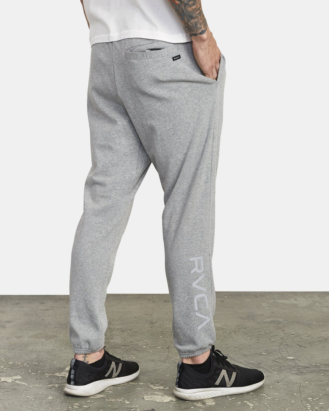 5 SWIFT SWEATPANT Grey VJ301SWT RVCA