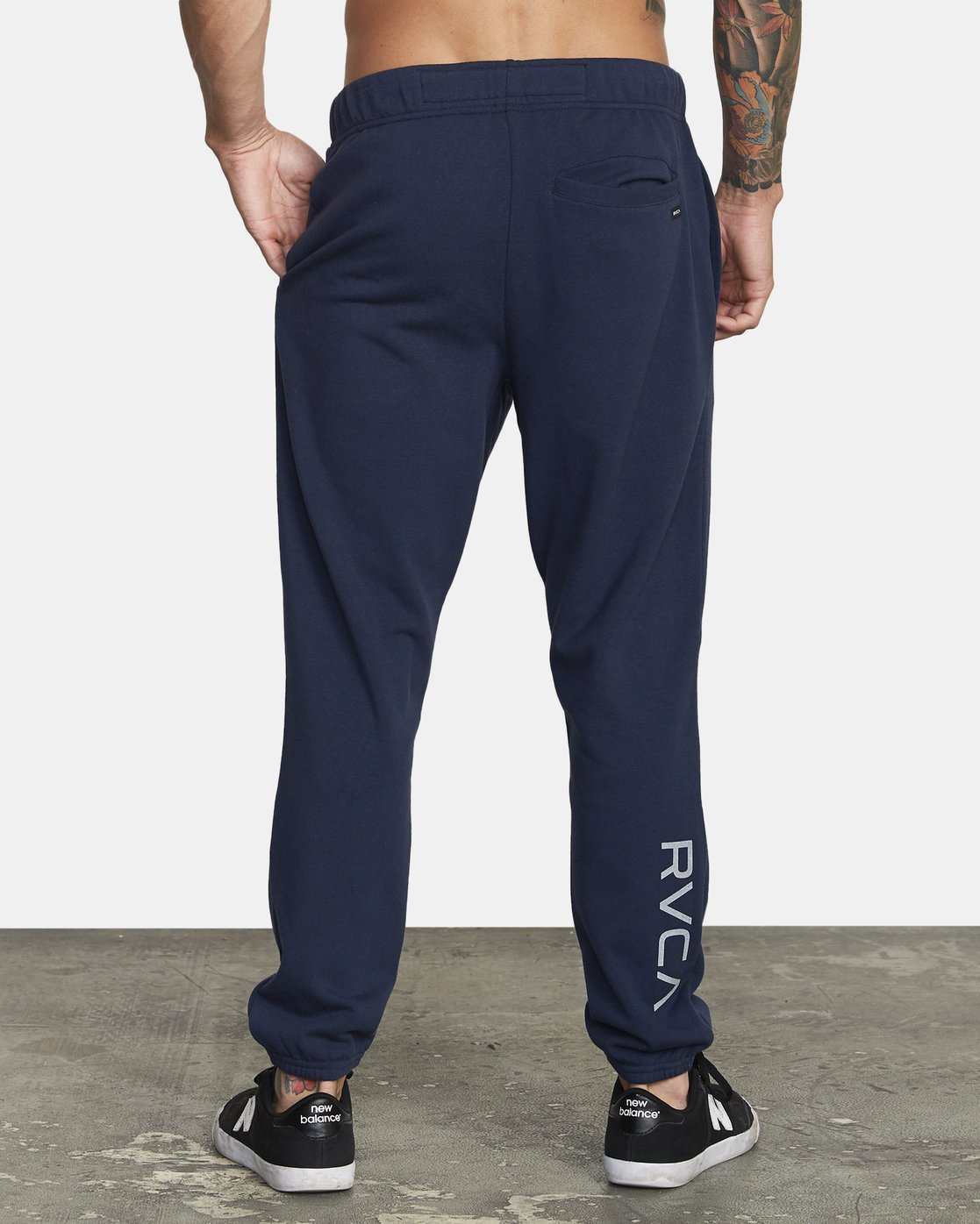 3 SWIFT SWEATPANT Blue VJ301SWT RVCA