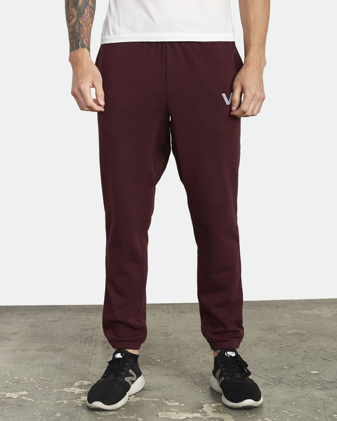 0 Swift Sweatpant Pink VJ301SWT RVCA