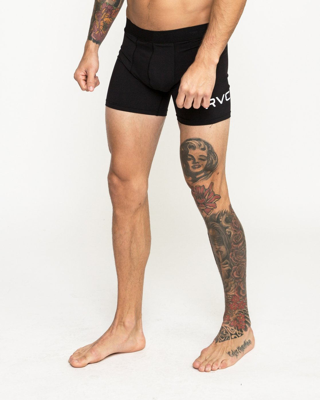 2 VA Boxer Brief Black VL01QRBB RVCA