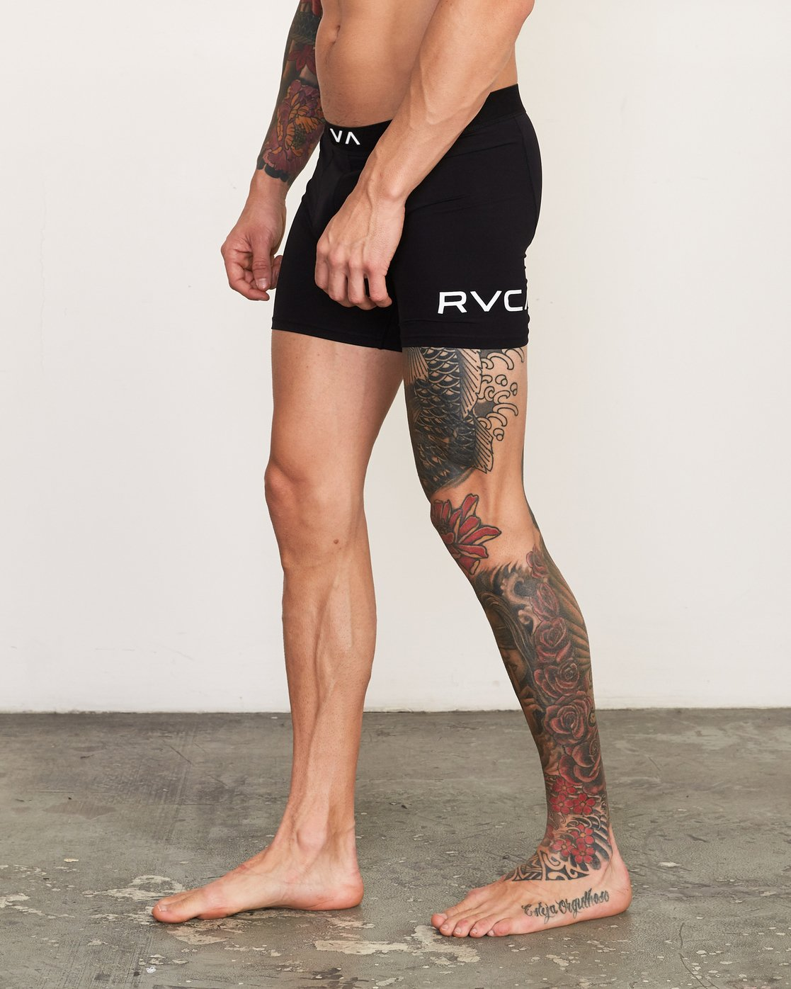 3 VA Boxer Brief Black VL01QRBB RVCA