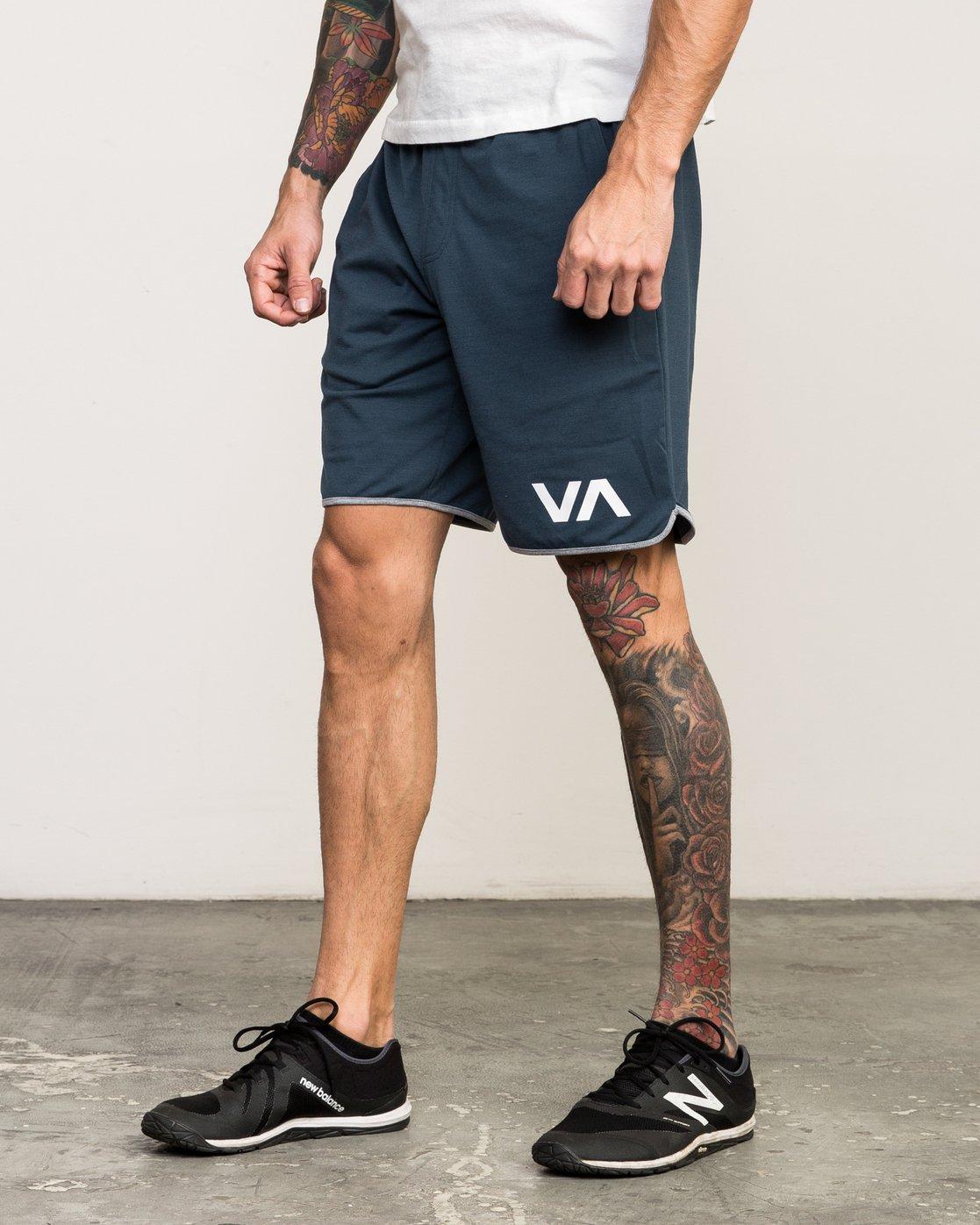 """2 VA Sport Short II 20"""" Short Blue VL201SPO RVCA"""