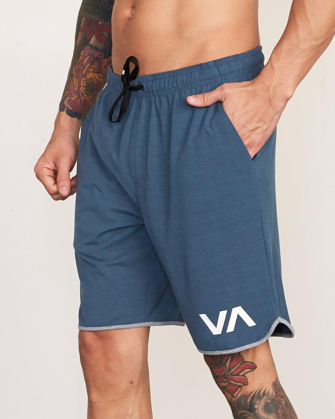 """8 VA Sport Short II 20"""" Short Blue VL201SPO RVCA"""
