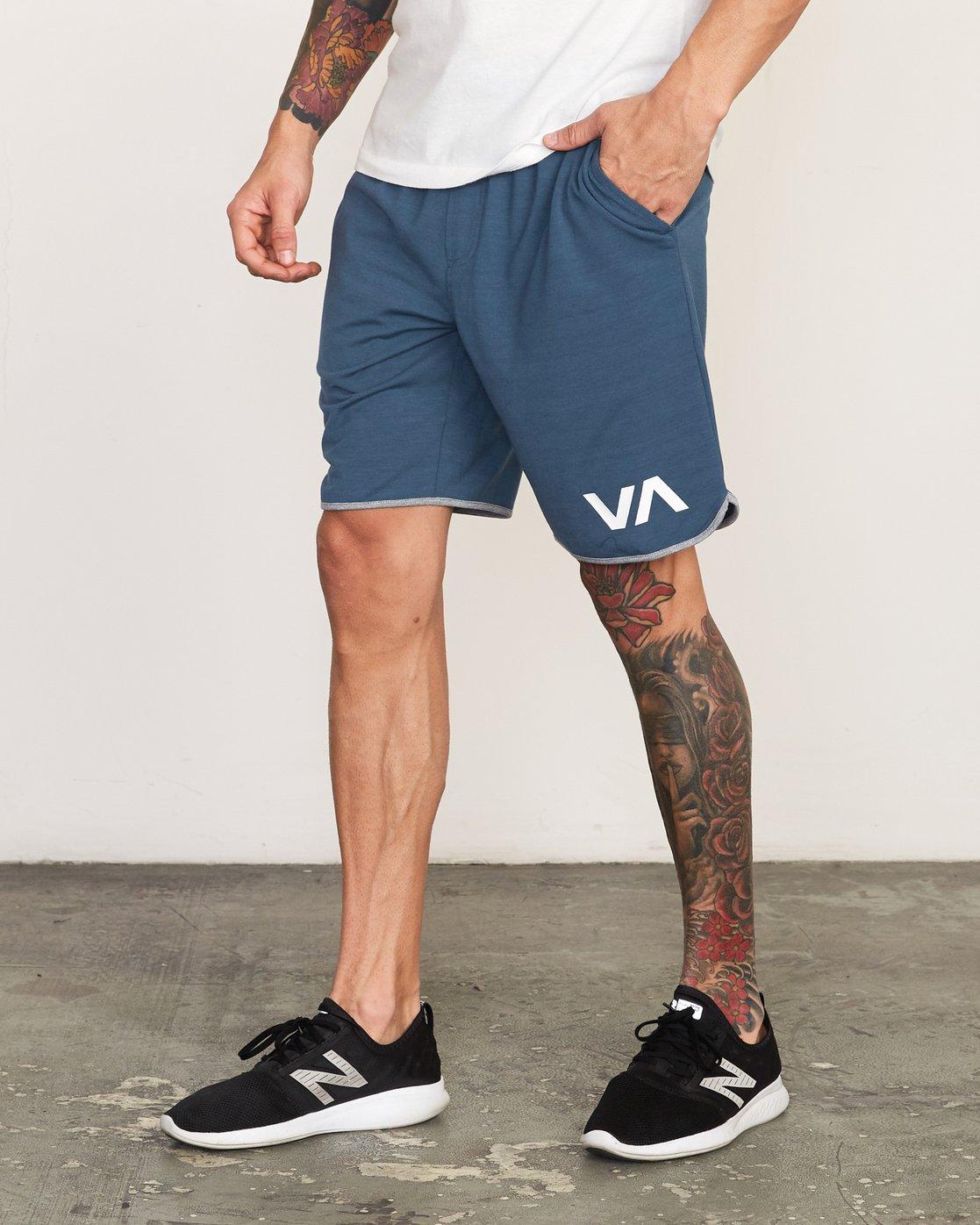 """3 VA Sport Short II 20"""" Short Blue VL201SPO RVCA"""