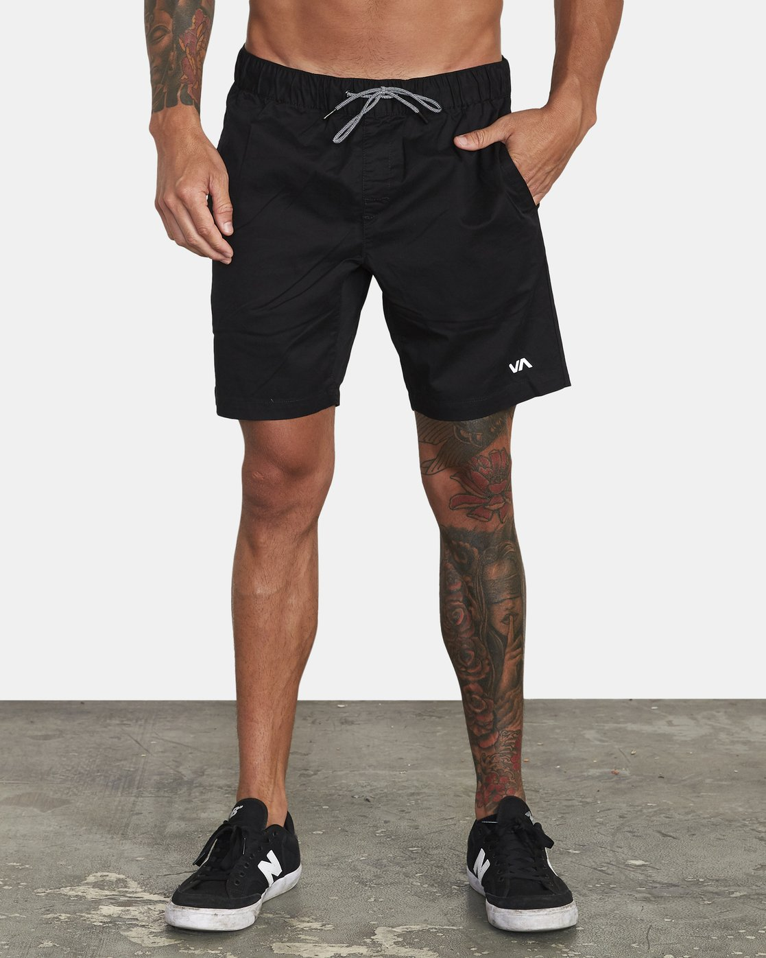 "1 Spectrum 18"" Short Black VL202SPE RVCA"