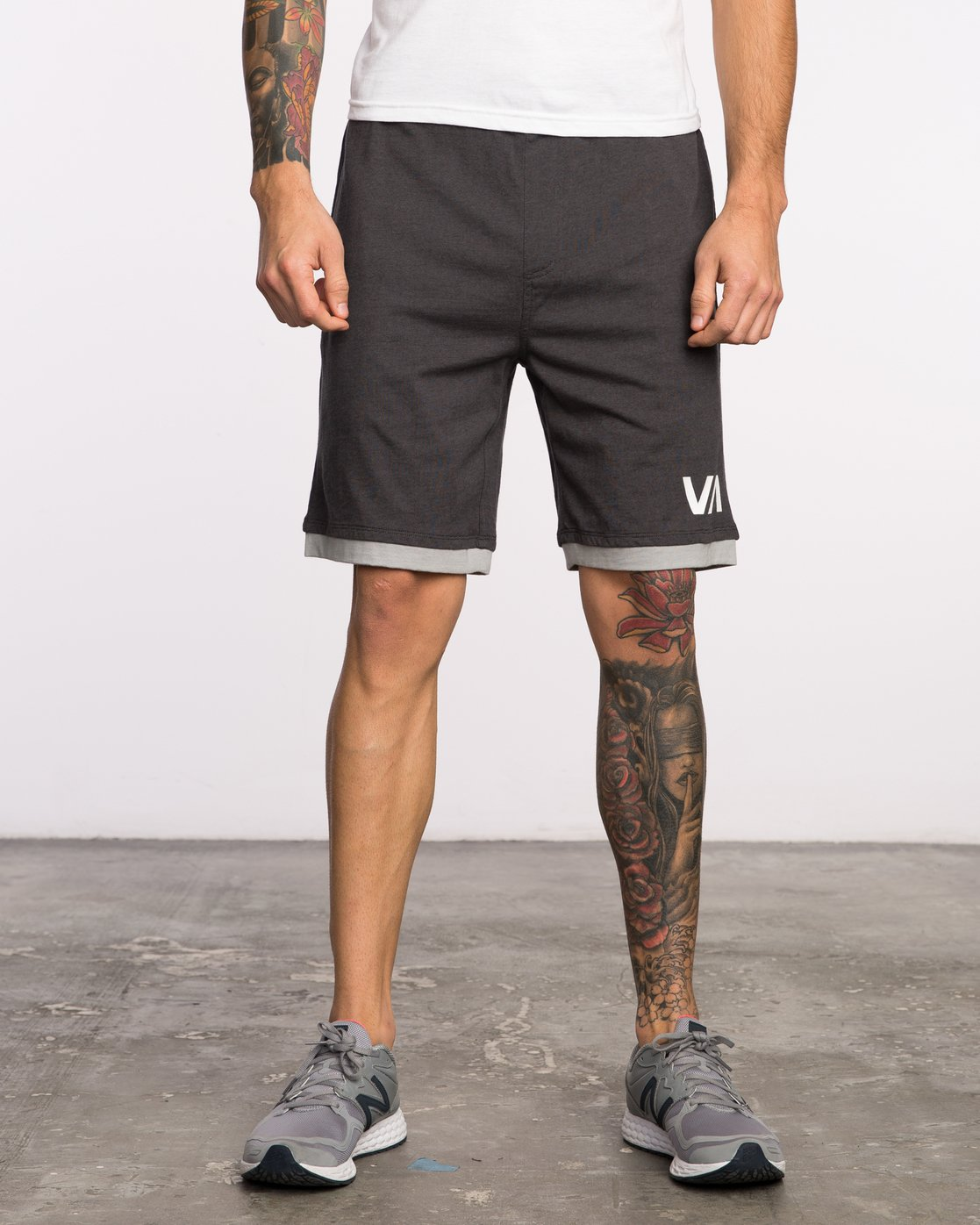 "1 Layers II 19"" Short Black VL205LRS RVCA"