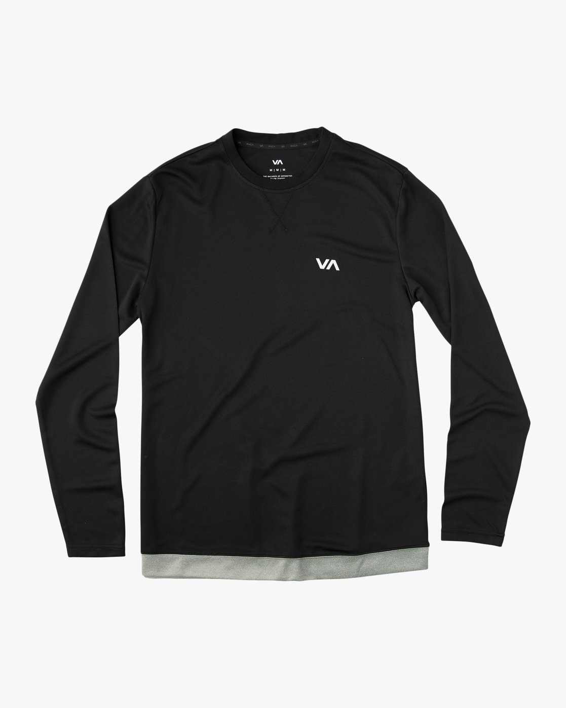 black runner long sleeve T shirt