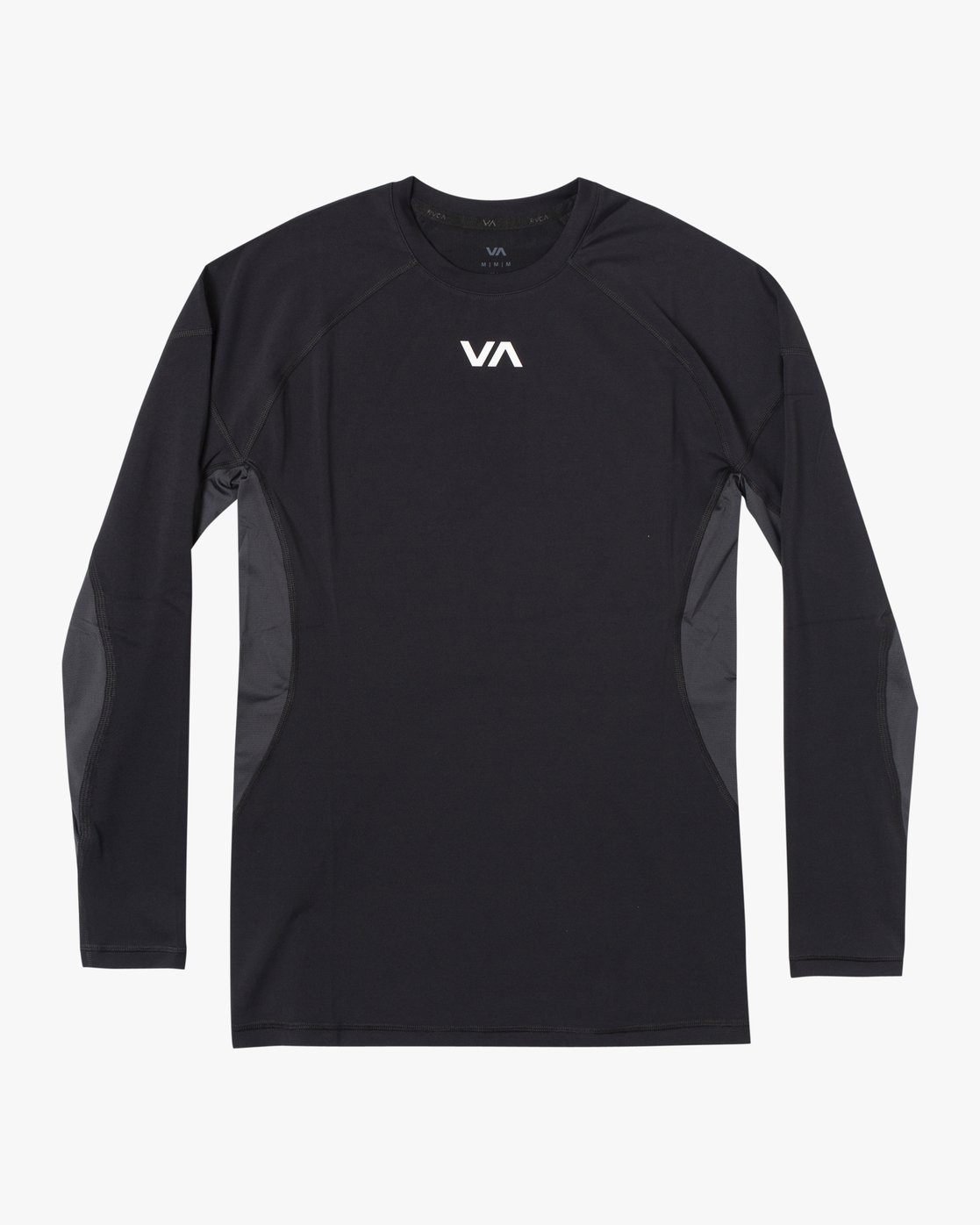 0 COMPRESSION LONG SLEEVE TOP Black VR011RCL RVCA